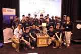 PTC-sponsored FIRST FTC team 2 Bits and A Byte showcases its competition robot.