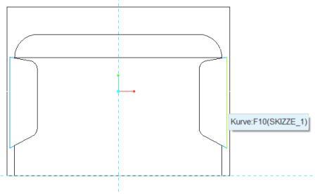 Profilkörper mithilfe von Skizzen erzeugen
