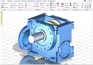 A Direct Approach To 3d Cad Design Makes Creation And Modification Of 3d Designs Fast