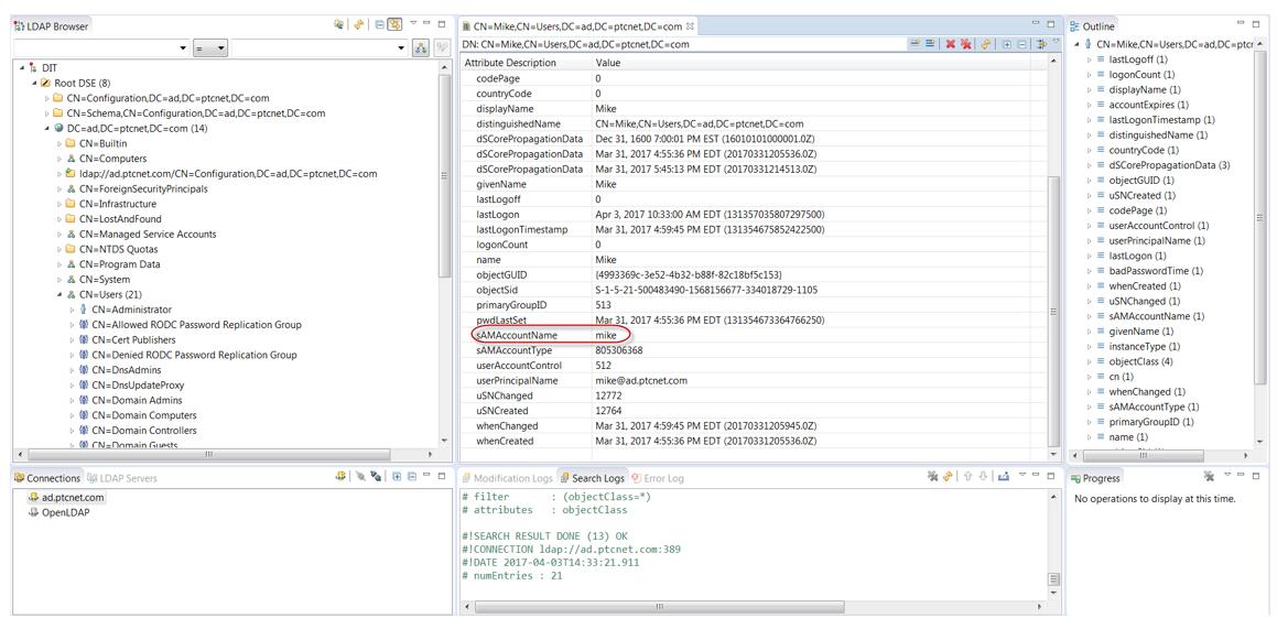Configuring Servigistics InService to Use an External LDAP