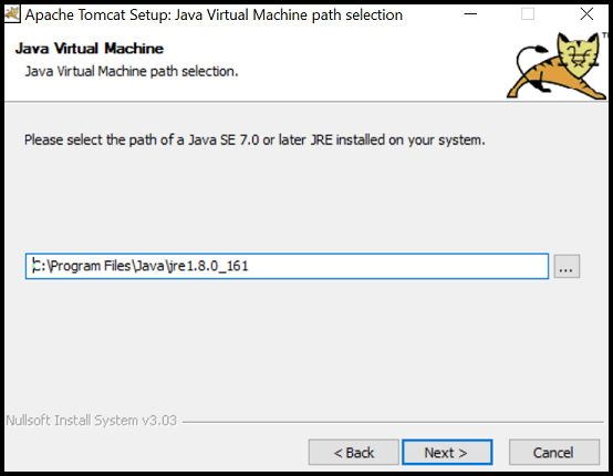 Install Java and Apache Tomcat (Windows)