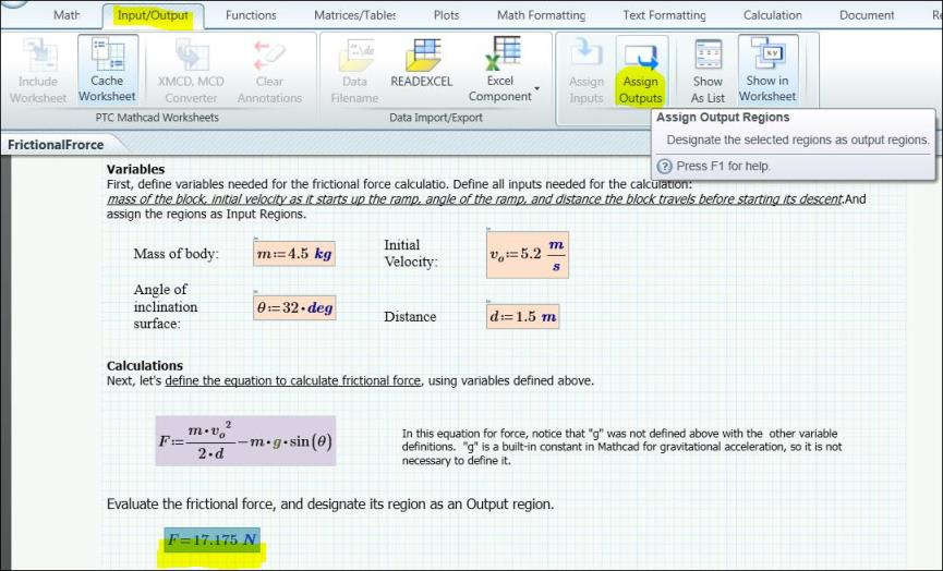 Converting Worksheets from PTC Mathcad 15 to PTC Mathcad Prime ...