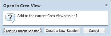 CS37699 - When attempting to open multiple Creo View