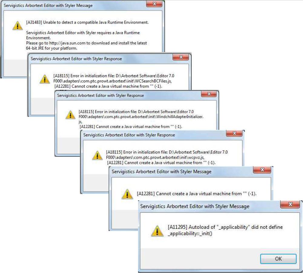 Error init adapter info