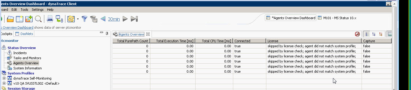 Article - CS134356 - In PSM UI under Status-Overview >