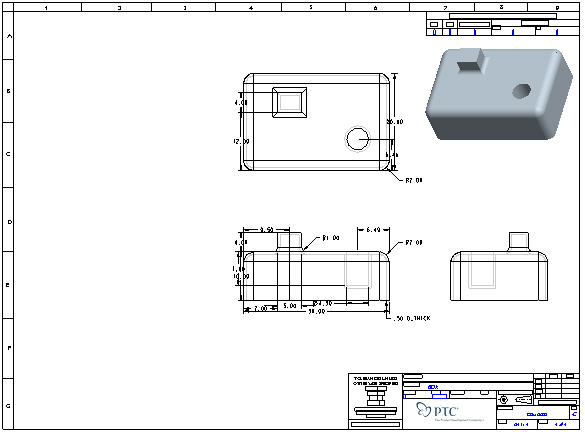 Ptc Creo 3 0 Sheet Metal Creo Sheetmetal Design Ptc Sheet